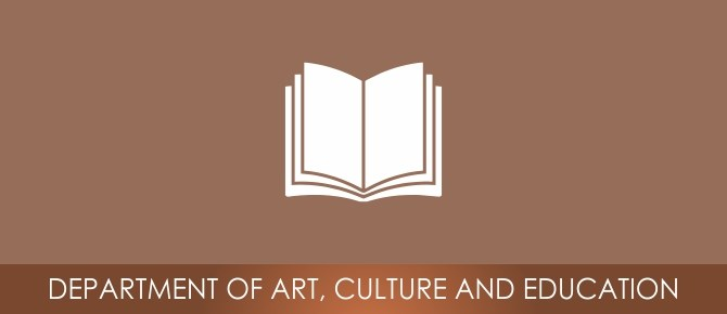 DEPARTMENT OF ART, CULTURE AND EDUCATION - DACE